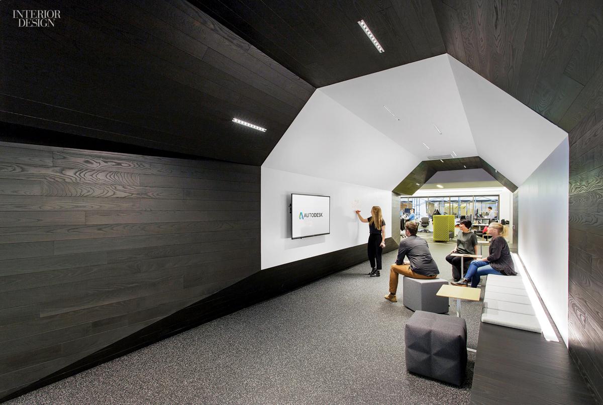 Gensler completes most recent office for autodesk for Office hallway design
