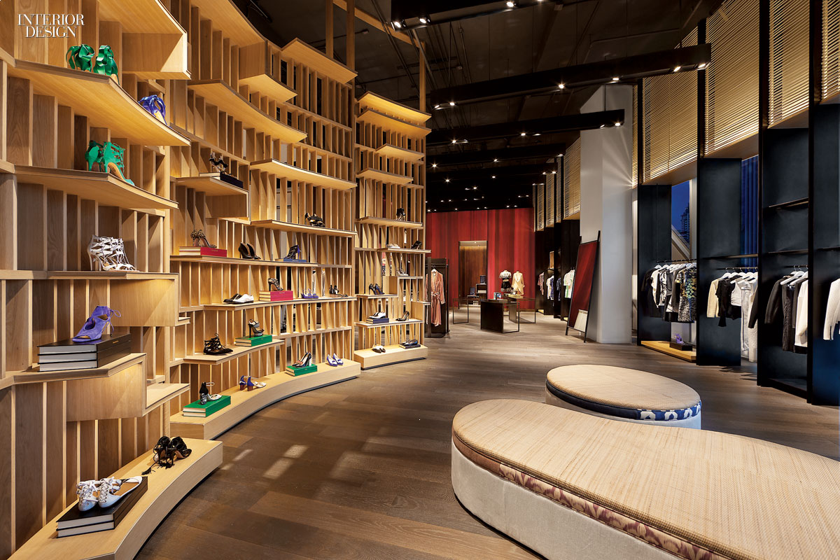 Simply amazing 30 global retail spaces for Retail interior designs