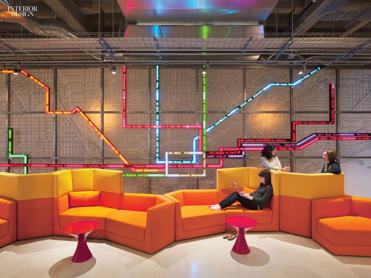 making connections gensler delivers open office for motorola. Black Bedroom Furniture Sets. Home Design Ideas