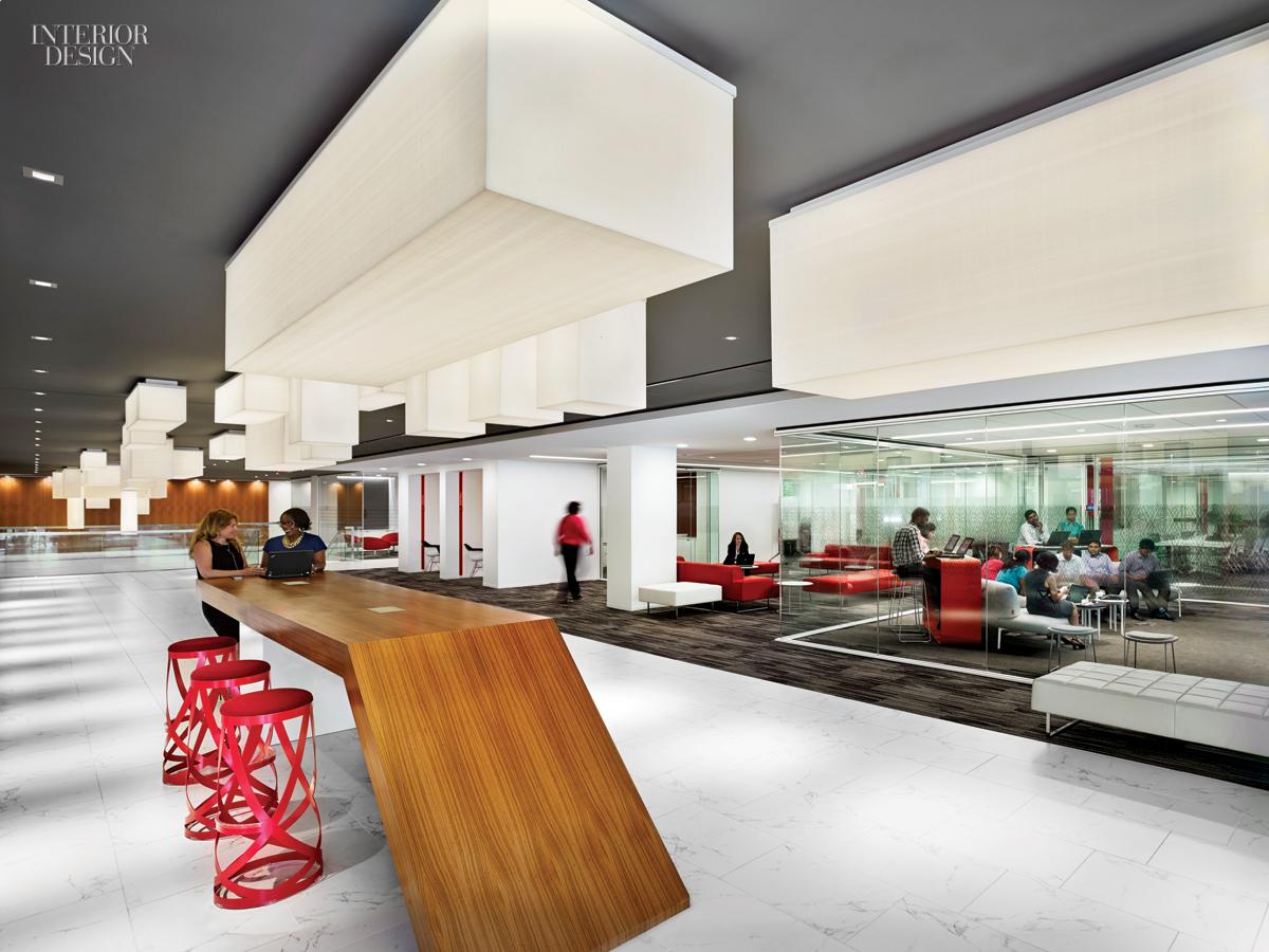 Gensler S New Lobby Paradigm For Marriott S Bethesda Hq