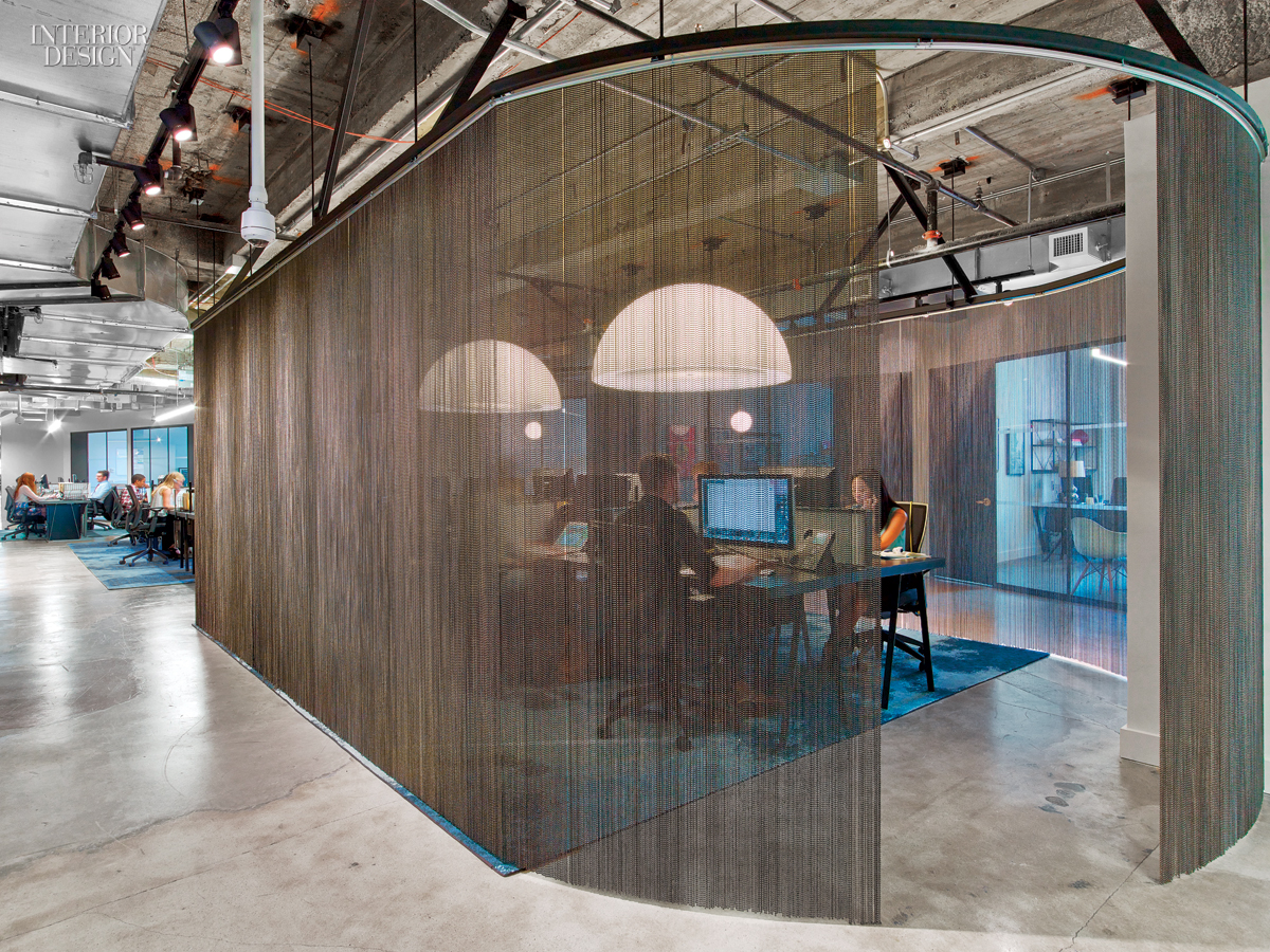 Wme img 39 s office by the rockwell group lets talent shine for Amazon sweden office