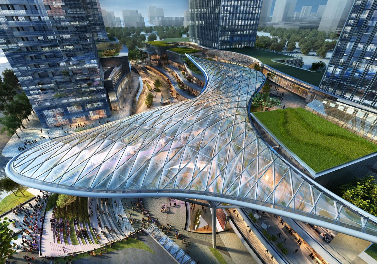 Benoy S Crl Qianhai Center Breaks Ground In Shenzhen