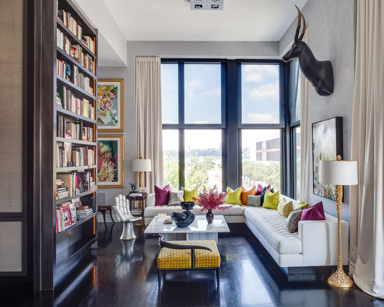 Jamie Drake's New York apartment. Photography by Marco Ricca.