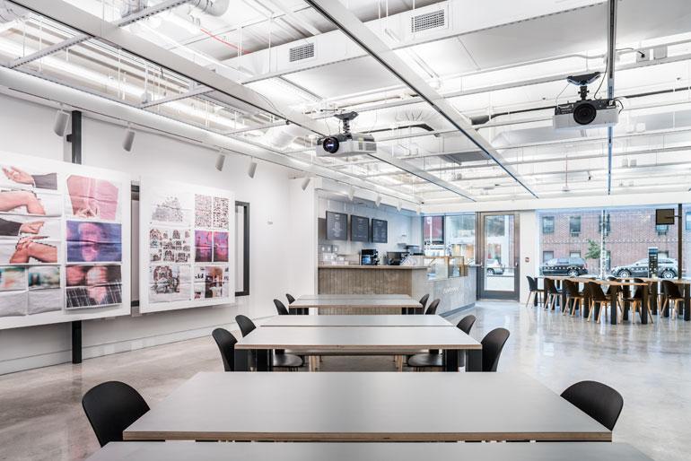 Som S New International Center Of Photography Opens In New York City Interior Design Magazine