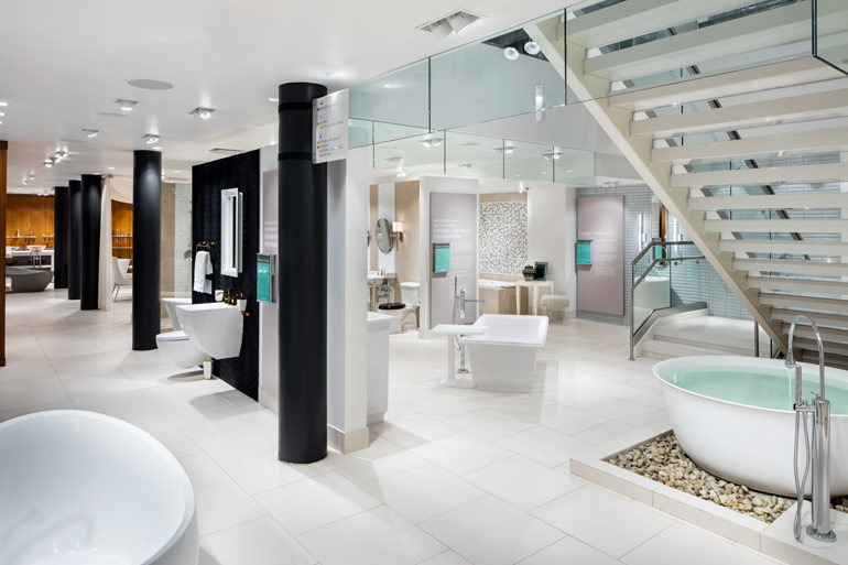 Pirch Tests Sensorial Retail Concept In New York Showroom Enchanting Interior Design Retail Concept