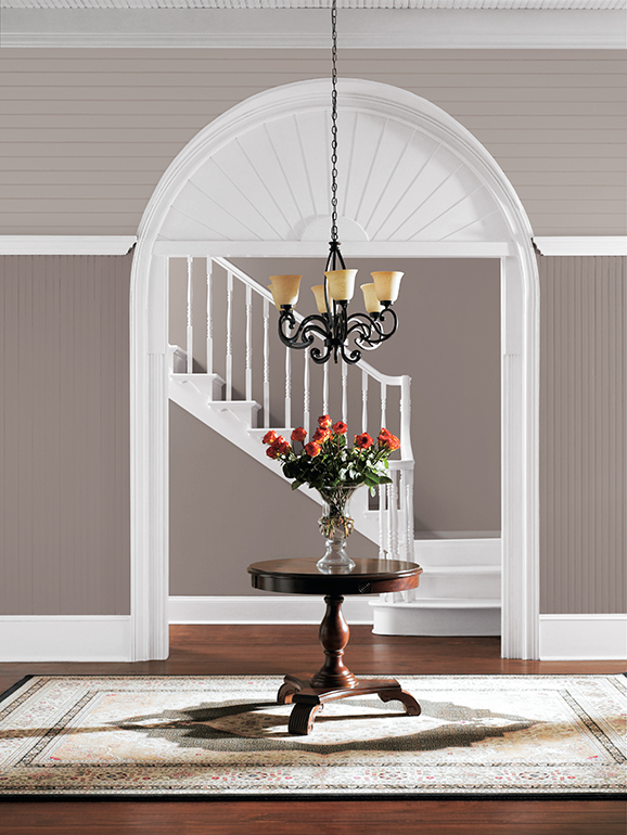 Poised taupe is the sherwin williams color of the year