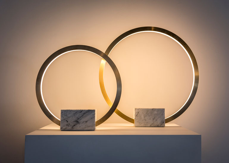 the new gallery debuts in l a with a lighting collection by