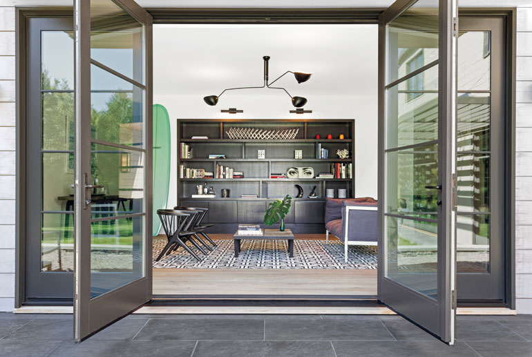Mode interior designs and ccs architects infuse a hamptons for Ccs interior design
