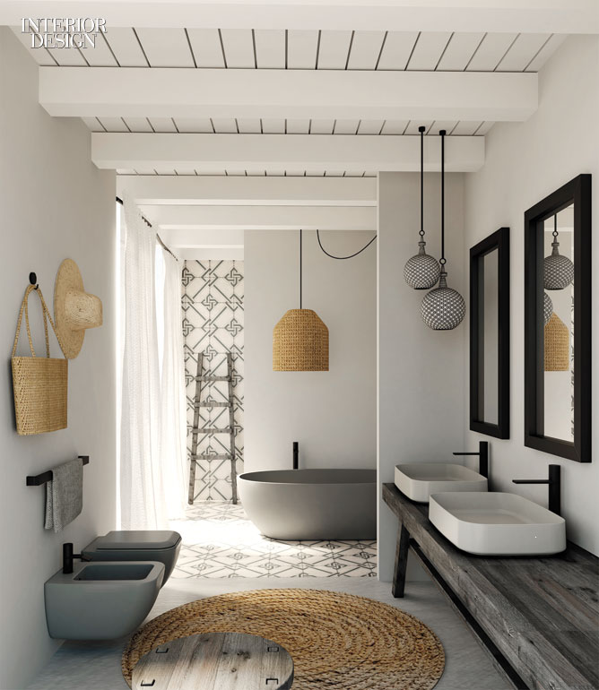 Ceramica cielo builds on the success of its shui bath series with the introdu - Deco salle de bain originale ...