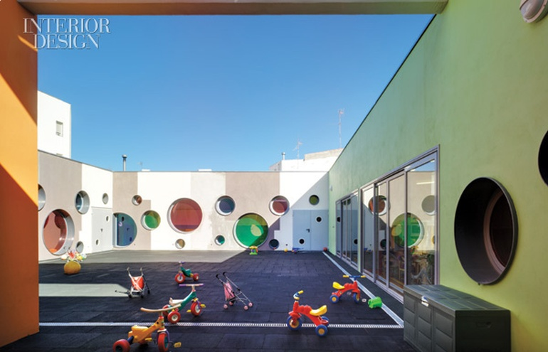 Join The Fun A Playful Daycare Center In Spain By Elap