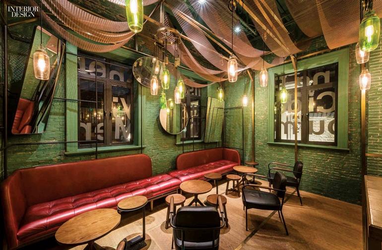 21 simply amazing restaurant interiors around the world for Amazing office interior design