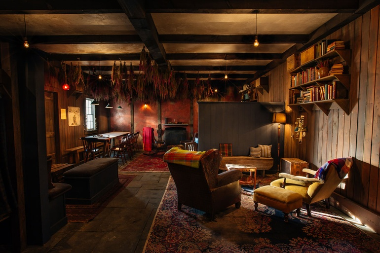 New York S Mckittrick Hotel Opens The Lodge