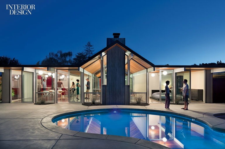 Mr and mrs eichler request the pleasure of your company for Eichler style home plans