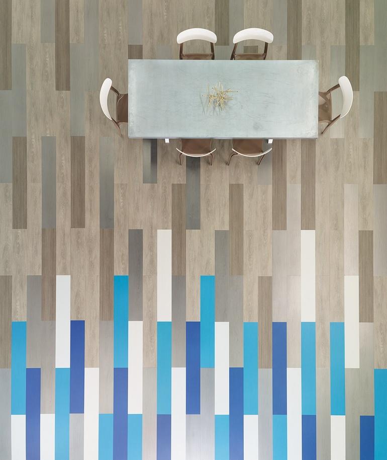 Gradient For Bathroom Floor : Neocon preview flooring