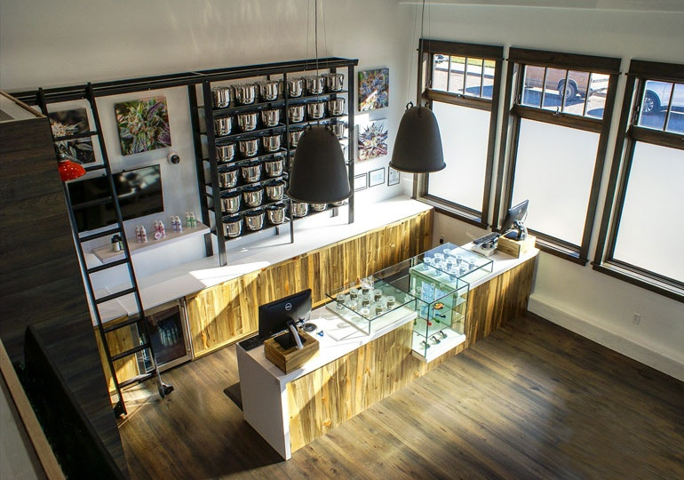 Trending 5 marijuana dispensaries tap into high design - Cannabis interior ...