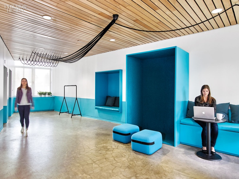 The office of marketing agency barrows brings the african for Marketing office design