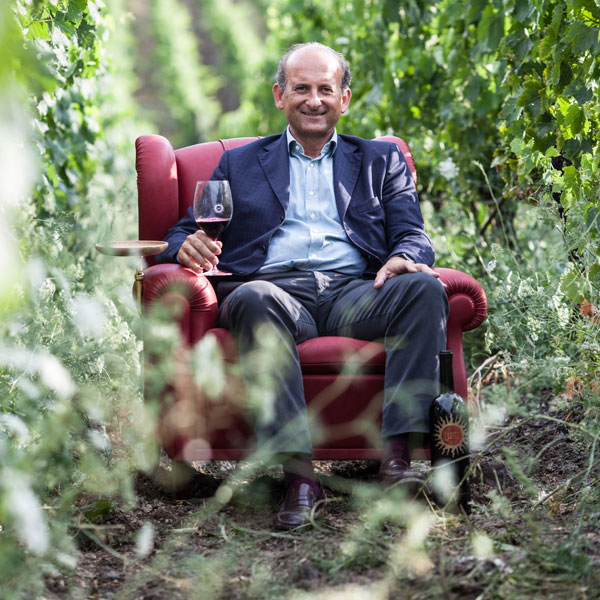 Lamberto Frescobaldi, president of Marchesi de'Frescobaldi and winemaker for Luce della Vite.