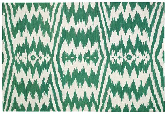 Genevieve Gorder's Uzbek rug