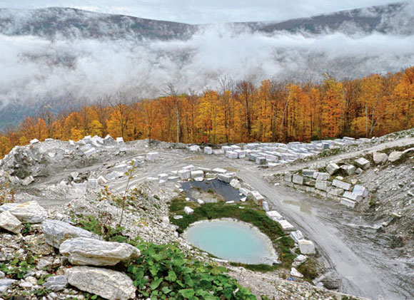 Vermont Danby Marble : Green mountain state of mind vermont quarries