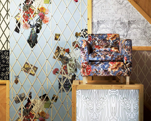 Designers Guild: Christian Lacroix Unveils Air de Paris Collection