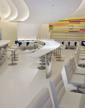 The Wright restaurant Guggenheim