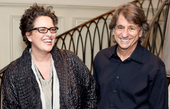 Cindy Allen with David Rockwell