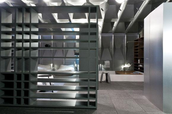 rhed built by Poliform Boat House Pavilion model at the Interior Design Show