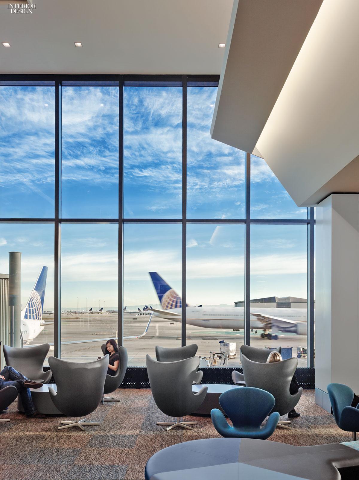 Gensler redesigns san francisco international airport for International interior designers