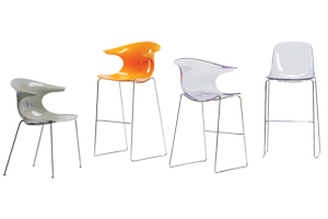 Wink Chair and stools