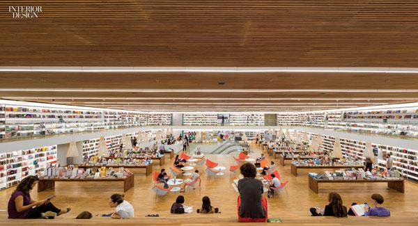 Interior 02 Culture Bookshop Brazil Studio Mk27 0115