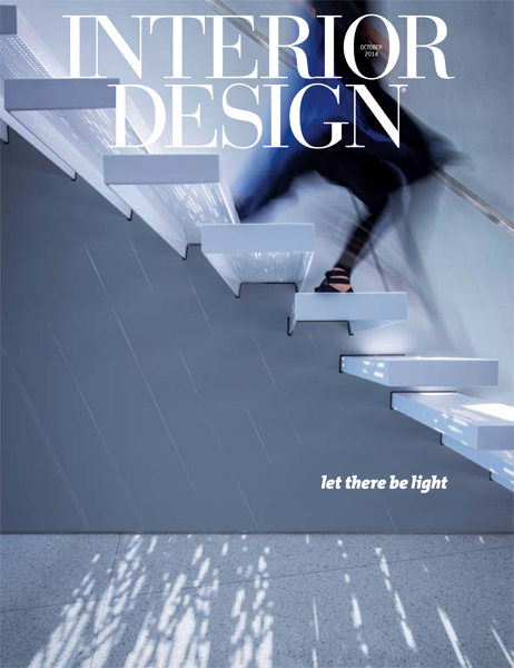 Interior Design October 2014 Cover