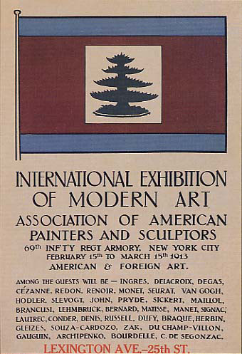 Armory Show PosterArmory Show Poster: via Wikimedia Commons.