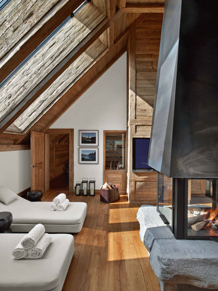 The Alpina Hotel Gstaad Panorama Suite Credit Eric Laignel