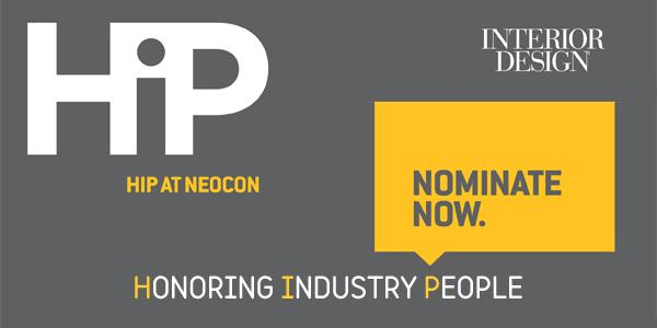 Interior Design Launches HIP At NeoCon Awards Program
