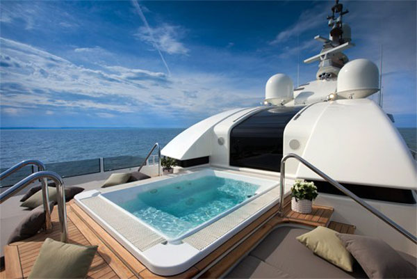 Innovative yacht design, including the 200-foot J'Ade by Zuccon International Project. Photo courtesy of CRN.