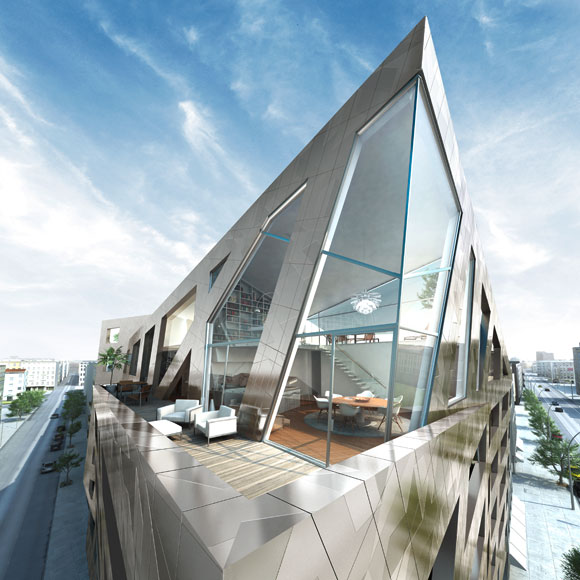 Daniel libeskind house project