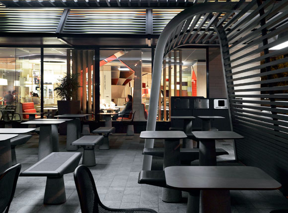 Patrick Norguet's Furniture Slated for McDonald's