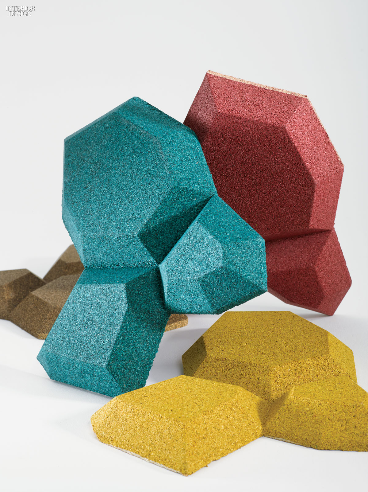 8 of the most inventive new materials from the mcx library for Sustainable interior materials