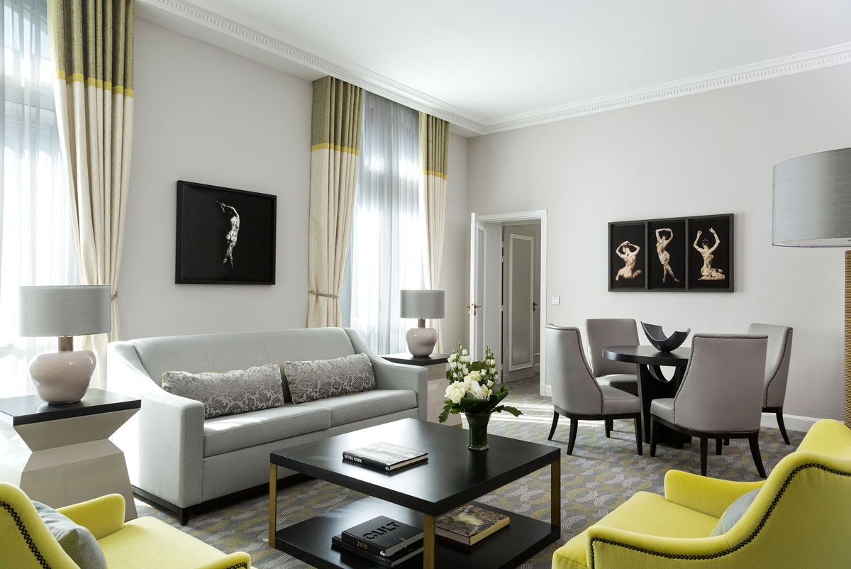 The renovation of paris 5 luxury hotels Design house international