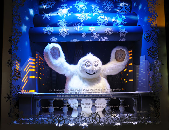 Saks Fifth Avenue The Yeti Story
