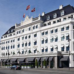 Facade Hotel d'Angleterre Copenhagen 0714