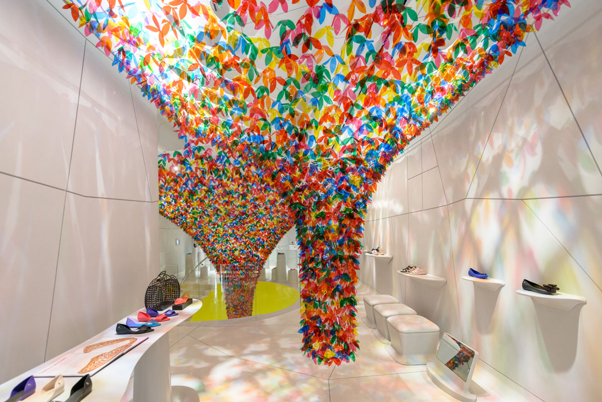 In Step With Summer Softlab Transforms Melissas NYC Flagship