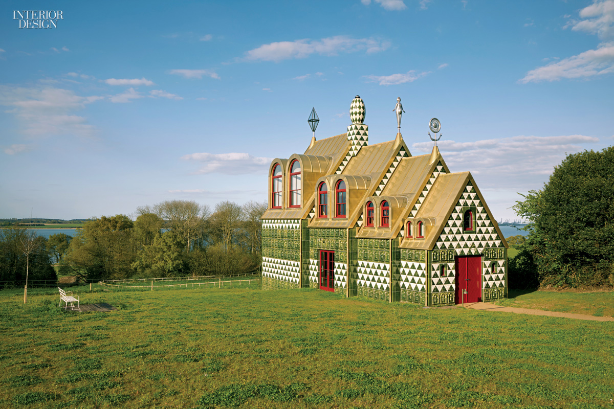 Living a fantasy a house for essex by grayson perry and for Holland house design