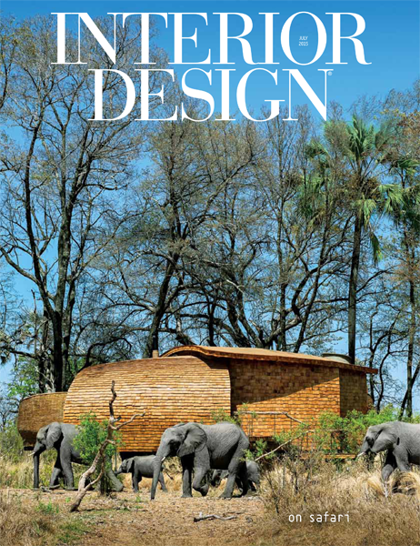 Interior Design July 2015 Cover
