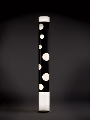 Joe Colombo's Bolle floor lamp