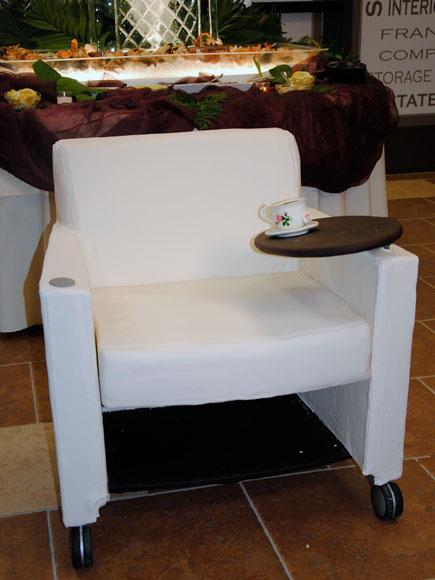 A Haworth Chair Made Of Cake