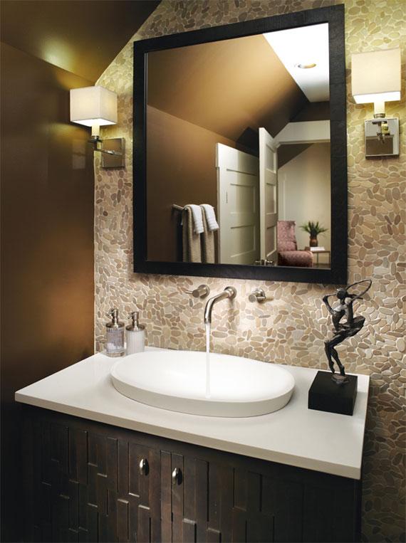 Alissa semi-recessed sink
