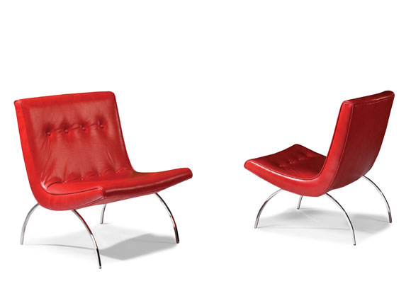Thayer Coggin Scoop Chairs