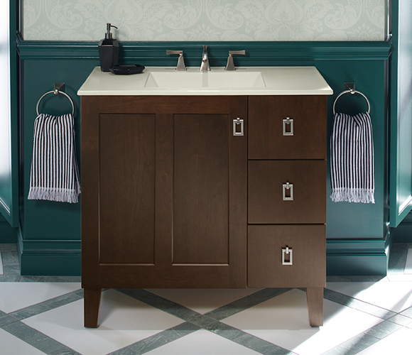 b ebay kohler bathroom jersey oak in s bn vanities vanity wood r jute