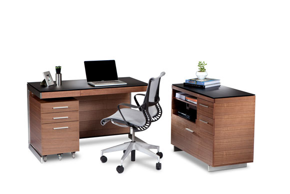 BDI Sequel Walnut Product Alone